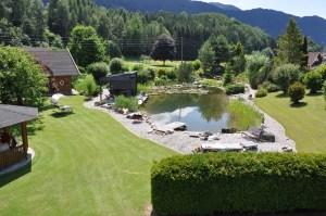 Überblick über die Teichanlage