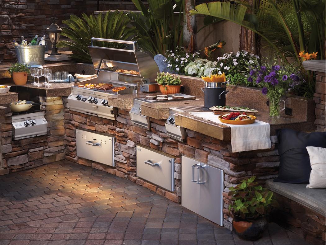 outdoor kitchens outdoor kitchen design firemagic outdoor kitchen