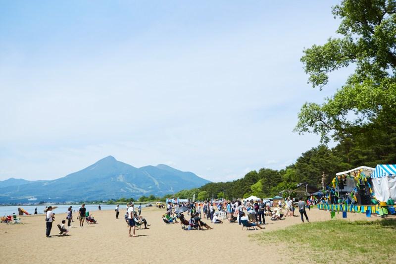 磐梯山×猪苗代の絶景を味わいながら、ゆったりと音楽を楽しめます♪