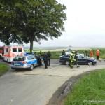 Verkehrsunfall eingeklemmte Person Lembrucher Str. 23.07.16 04