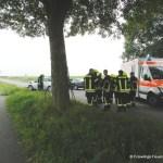 Verkehrsunfall eingeklemmte Person Lembrucher Str. 23.07.16 05