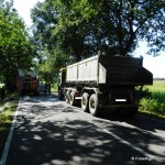 Verkehrsunfall eingeklemmte Person Voerdener Str. Hinnenkamp 18.08.16 23