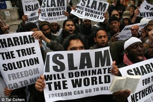 Islamists Protesting
