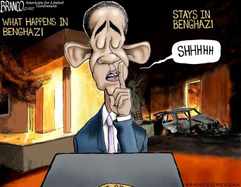 Stays in Benghazi