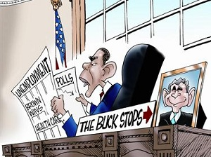 The Buck Stops with Bush, Not Obama