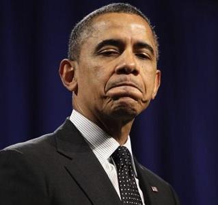 Obama Biting Lip