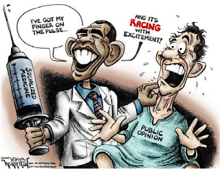 ObamaCare Cartoon