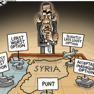 Obama Syria Failed Leadership
