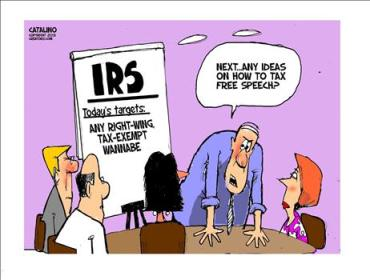 IRS Silecing Conservatives
