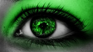 envy green eye