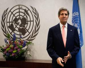 John Kerry United Nations UN Cease Fire
