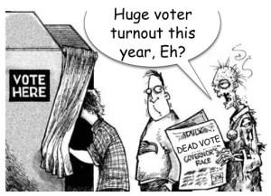 Voter Fraud Dead Vote