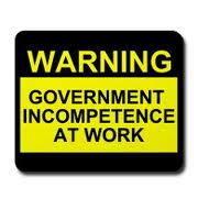 government incompetence