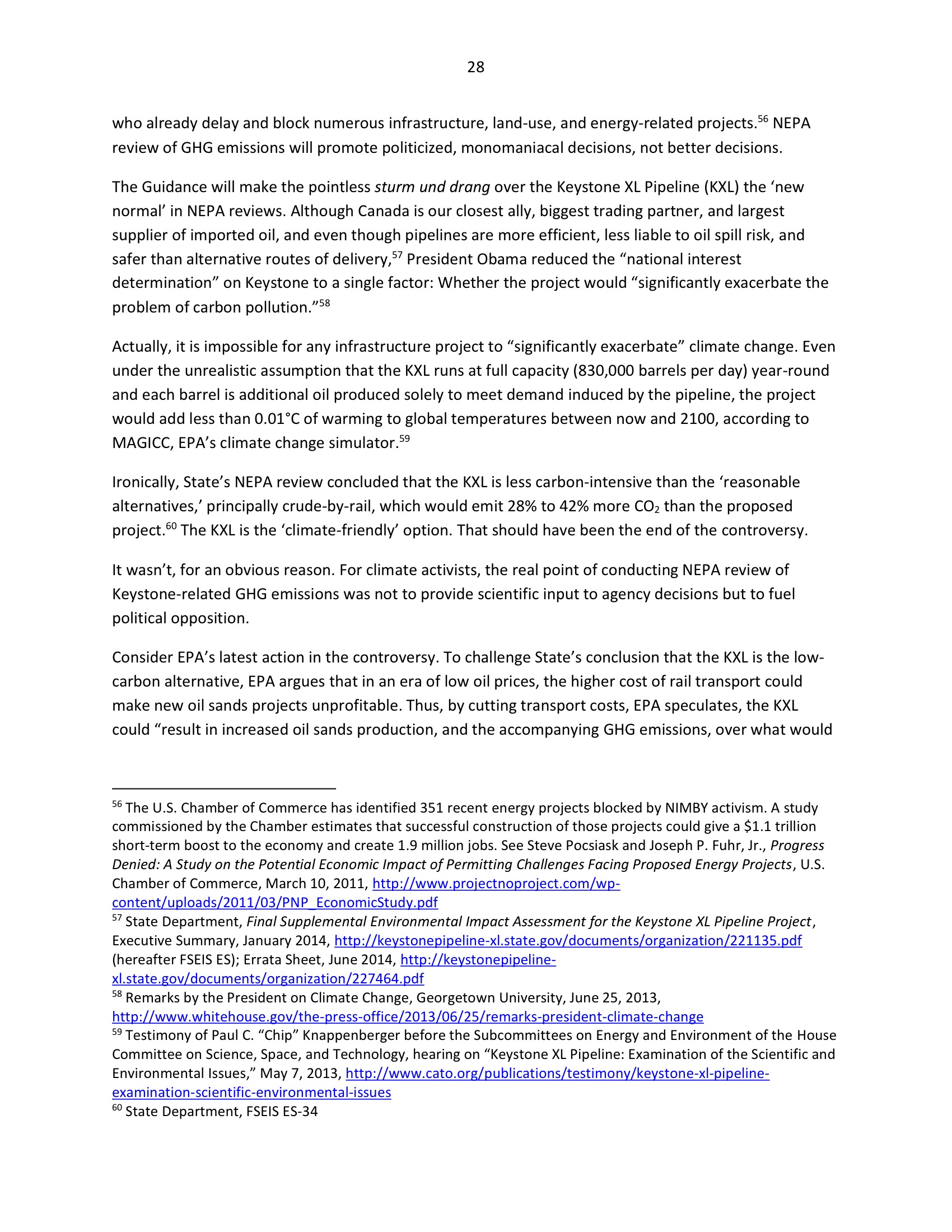 Marlo Lewis Competitive Enterprise Institute and Free Market Allies Comment Letter on NEPA GHG Guidance Document 100-28