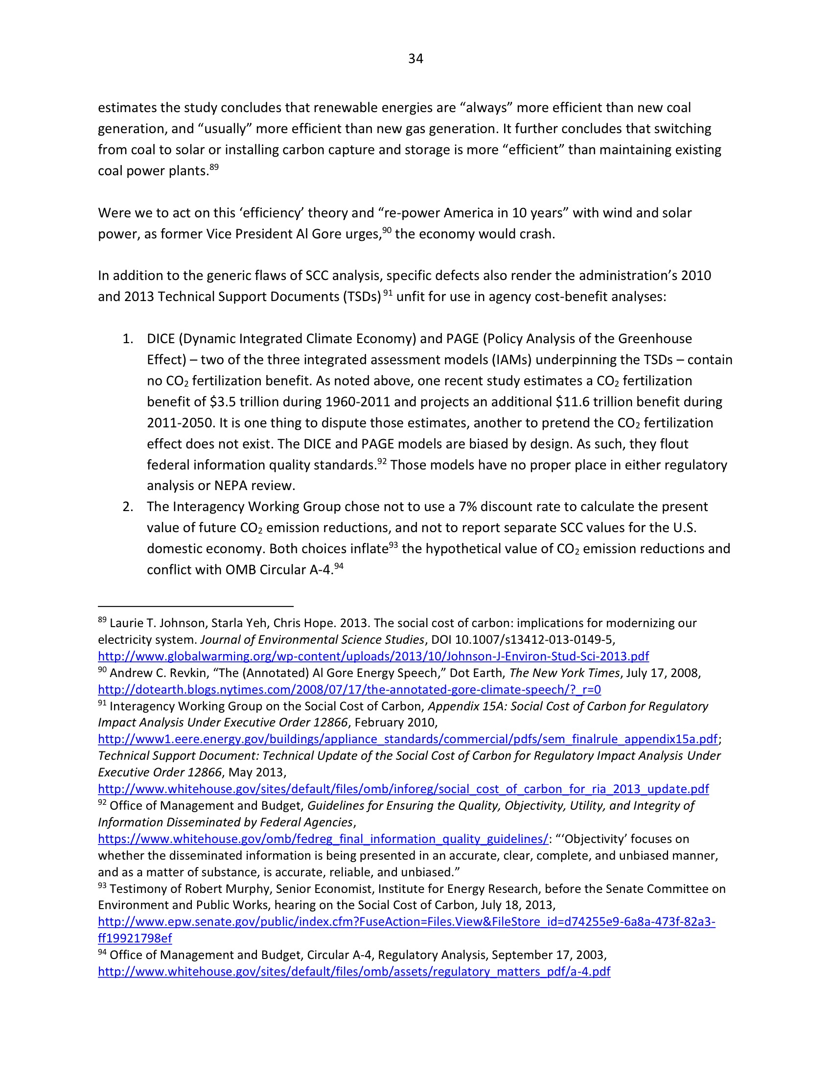 Marlo Lewis Competitive Enterprise Institute and Free Market Allies Comment Letter on NEPA GHG Guidance Document 106-34