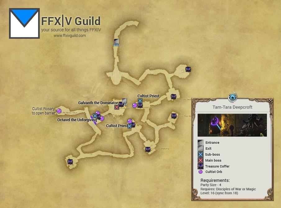 FFXIV-ARR-Tam-Tara-Deepcroft-Map