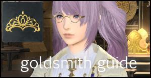goldsmith guide ffxiv arr crafting