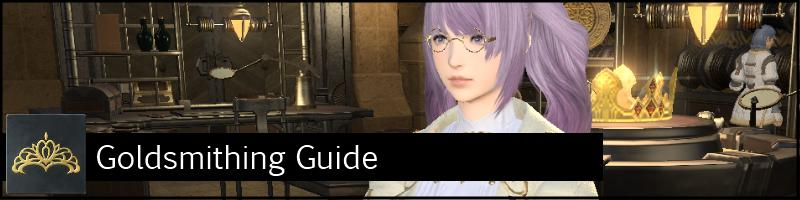 goldsmithing guide crafting ffxiv arr banner
