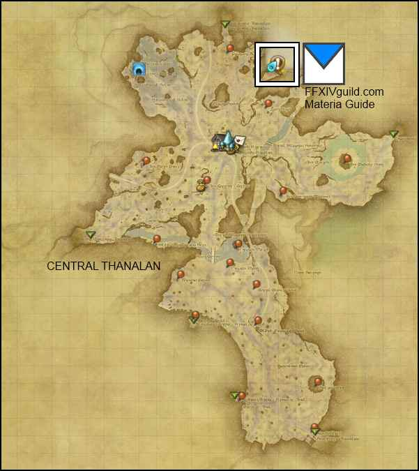 materia quests locations ffxiv arr realm reborn