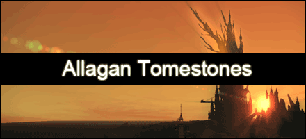 Allagan Tomestones (Philosophy & Mythology)