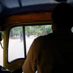 Dans un Rickshaw