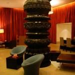Réception de l'hotel Park, design signé Conran