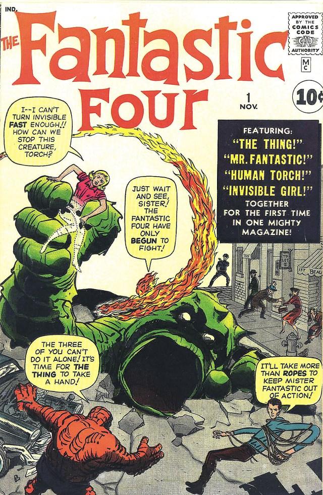 Fantastic Four nº 1, início do Universo Marvel