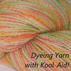 How to Dye with Kool Aid, Fiberartsy.com