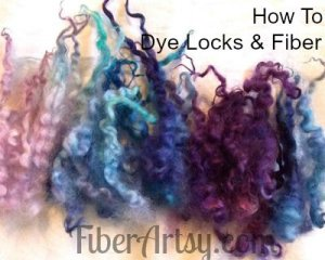 Locks of Many Colors! How to Kettle Dye Wool and Fiber