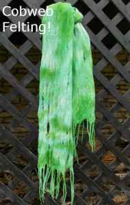 Felting Techniques: Part 2 Make a Cobweb Felted Scarf