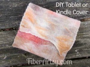 Easy DIY Tablet or Kindle Cover