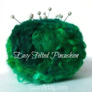DIY Felted Pincushion – Great Gift Idea!