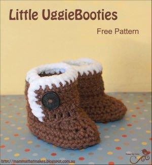 Uggie Boot Crochet Pattern