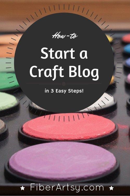 How to Start Your Own Craft or DIY Blog, FiberArtsy.com