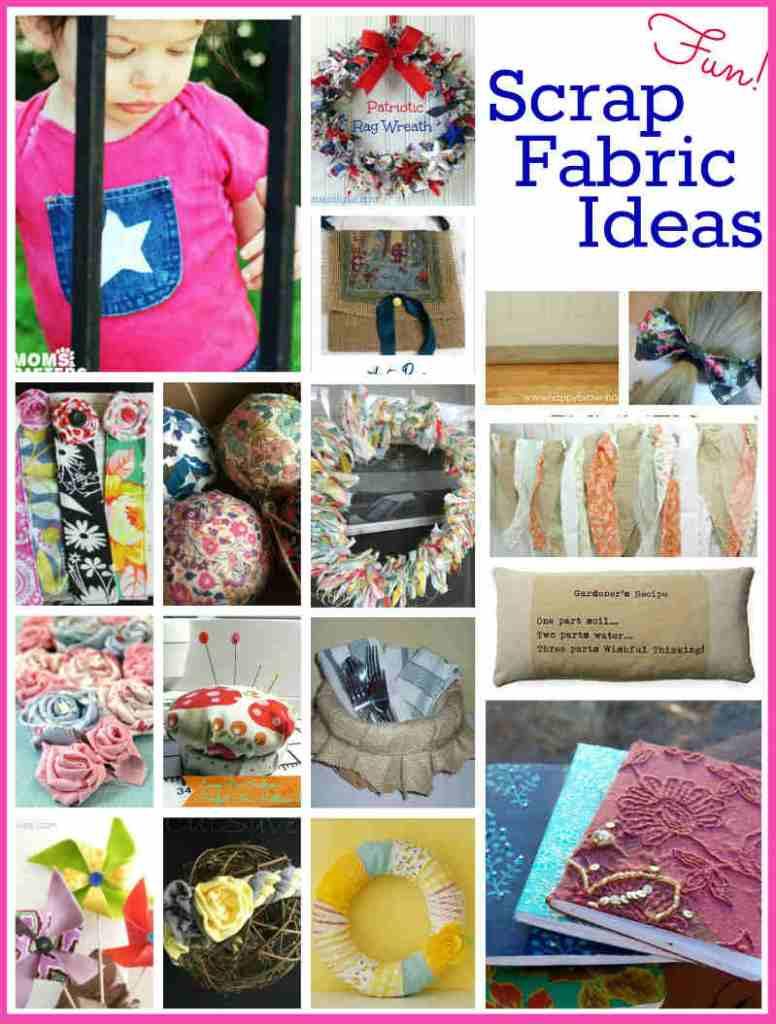 Scrap Fabric Project Ideas, FiberArtsy.com