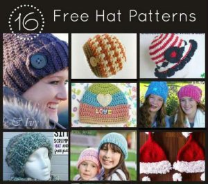 16 Hat Patterns for Knit and Crochet