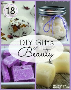18 DIY Gifts of Beauty