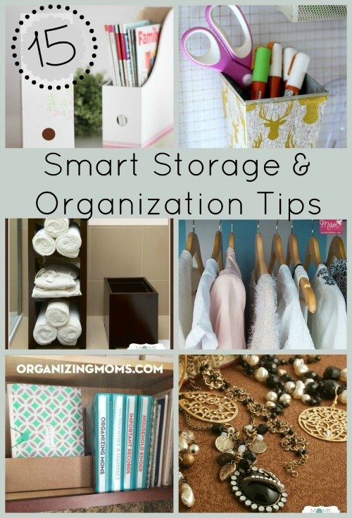 Home Storage & Organization Tips by FiberArtsy.com