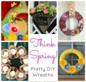 Pretty DIY Spring Wreaths