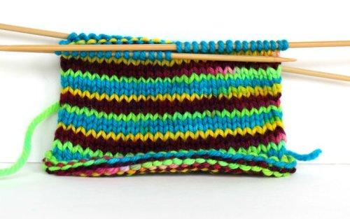 How to dye self striping yarn FiberArtsy.com tutorial