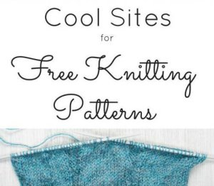 15 Sites for Free Knitting Patterns