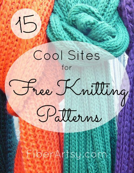 Sites for Free Knitting Patterns, FiberArtsy.com