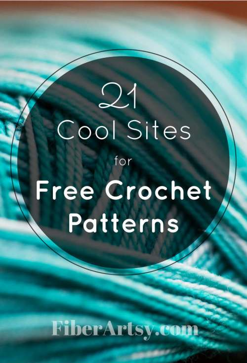 Websites for Free Crochet Patterns - FiberArtsy.com