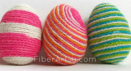 15 Ways to Decorate Easter Eggs by FiberArtsy.com