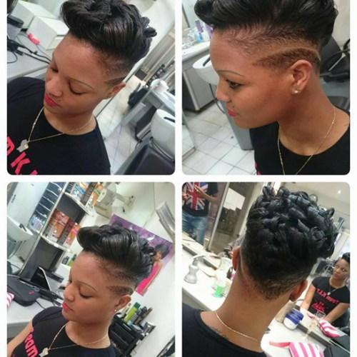 Belly coiffure fier d 39 tre guyanais fier guyane - Salon de coiffure afro noisy le grand ...