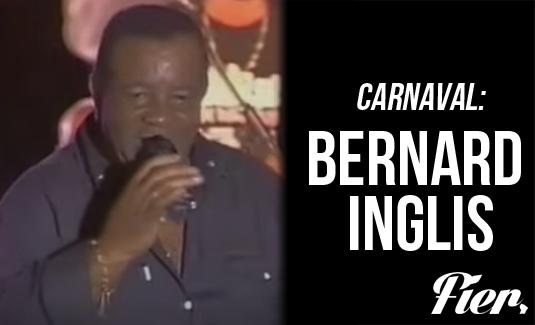 Bernard Inglis, un grand homme du carnaval guyanais