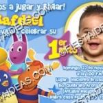 invitación backyardigans
