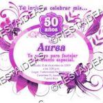 invitacion mariposa 50