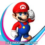 invitaciones Super Mario Bros