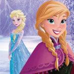 Invitaciones Frozen Anna, Elsa